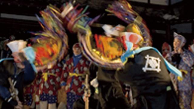 南部 八戸の豊作祈願の舞「えんぶり」