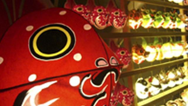 藩命で生まれた金魚「津軽錦」がねぷたに!