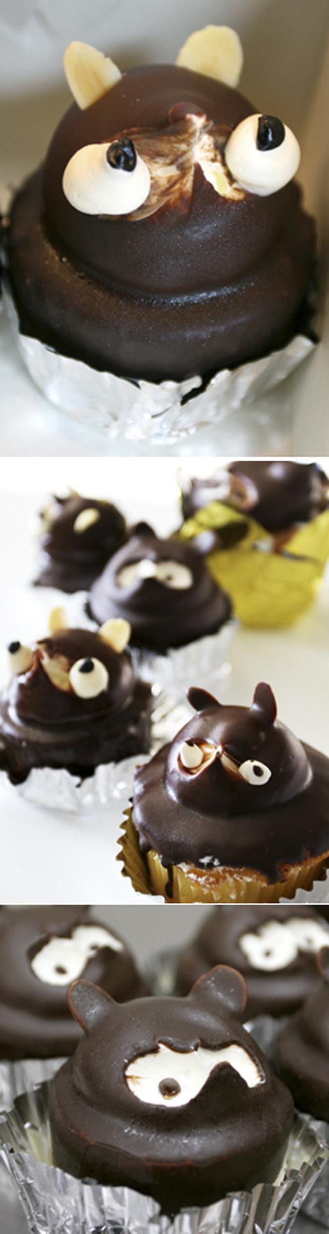 ケーキの絶滅危惧種「たぬきケーキ」