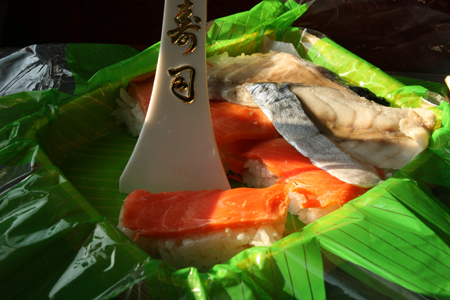 45年のロングセラー駅弁 「八戸小唄寿司」