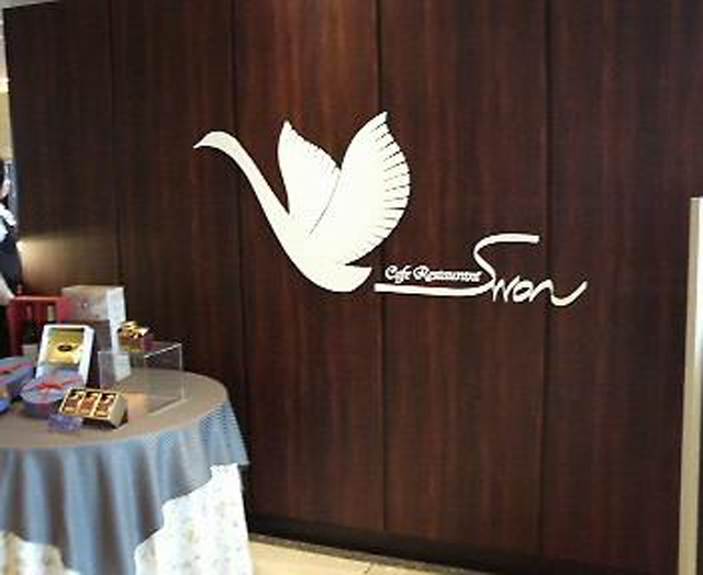 ホテル青森1階のカフェレストラン「スワン」