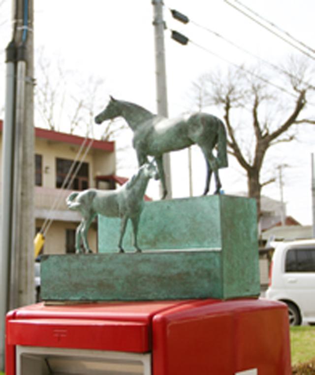 十和田の官庁街通り