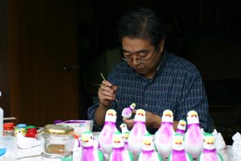 津軽の雛人形 ~下川原焼~