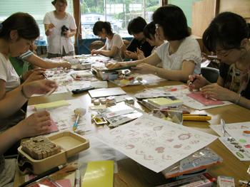 夏の工芸学校