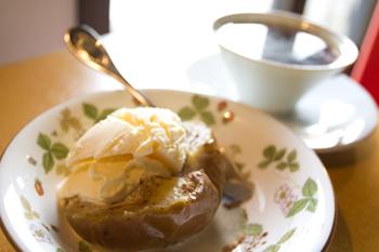 フェザント ~焼きりんごのアイスクリーム添え~