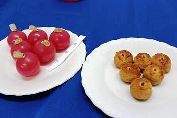 りんご型の小菓子、今昔。