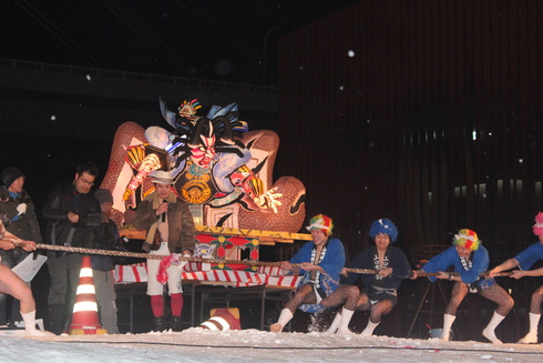 the 男男男祭(もつけまづり)