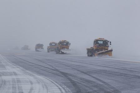 日本一です!青森空港の除雪