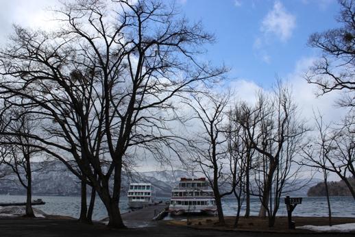 十和田湖畔の憩い