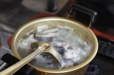 青森の磯汁「ドンコ汁」