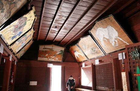 まるで津軽藩主が残した歴史の紙芝居「岩木の大絵馬」