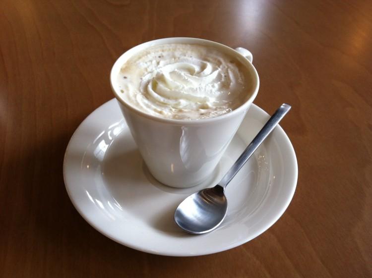 岩木山を眺めながらコーヒーを♪