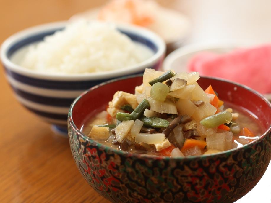 津軽の正月料理「けの汁」の簡単レシピ