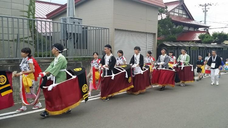 北海道新幹線が開業した今別町の荒馬まつりがスタート