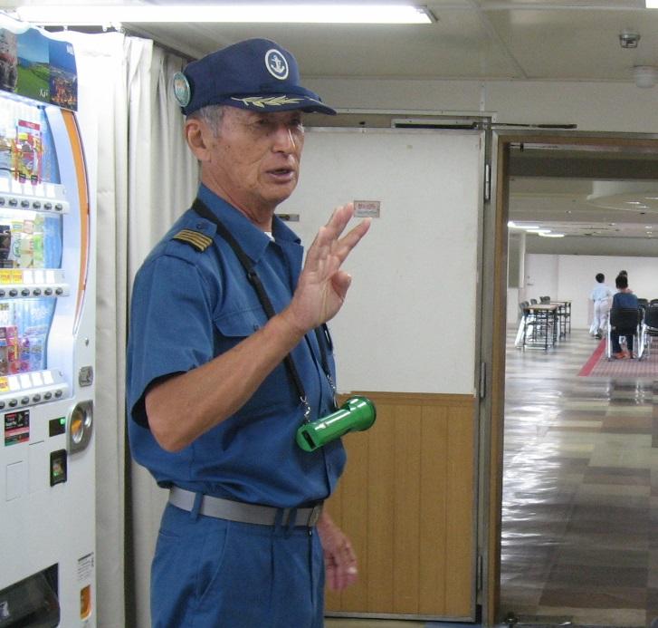 元機関長さんがご案内!八甲田丸船内探検ツアー