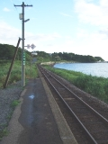 ゆっくりでいい、と語りかける駅~驫木駅1