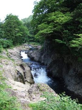 森林散策でココロを洗濯~薬研渓流4