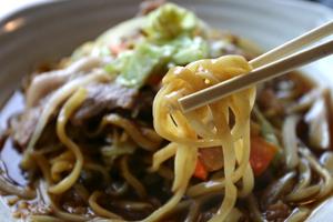 黒石やきそばの「麺」の秘密2