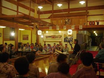 津軽三味線と山海の幸 ホテルグランメール山海荘8