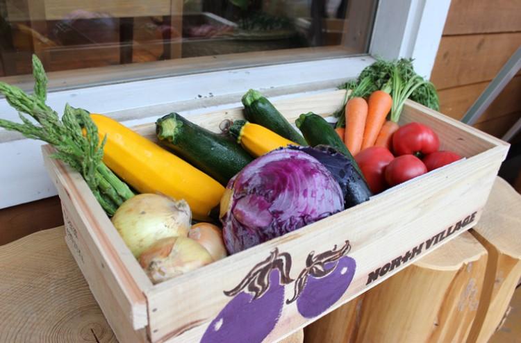 旬の県産野菜と石釜ピザを堪能!「農園キッチンノースビレッジ」