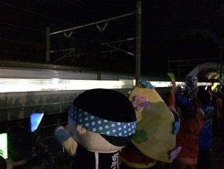 新幹線、北の大地へ! そして、さようなら白鳥たち