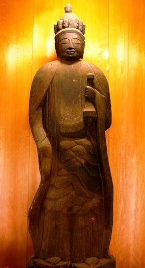 佐井の街歩きで、円空仏を拝観