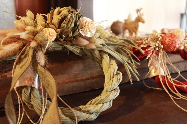 オンリーワンのしめ飾りで迎えるお正月