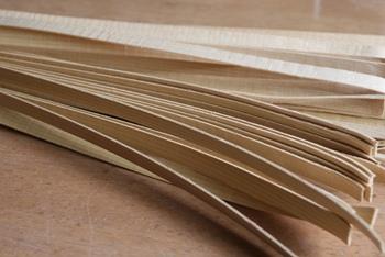 オンリーワンの民芸品「青森ひば」の篭