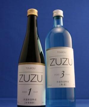 りんごテクノロジーから生まれた熟成酒「ZUZU」