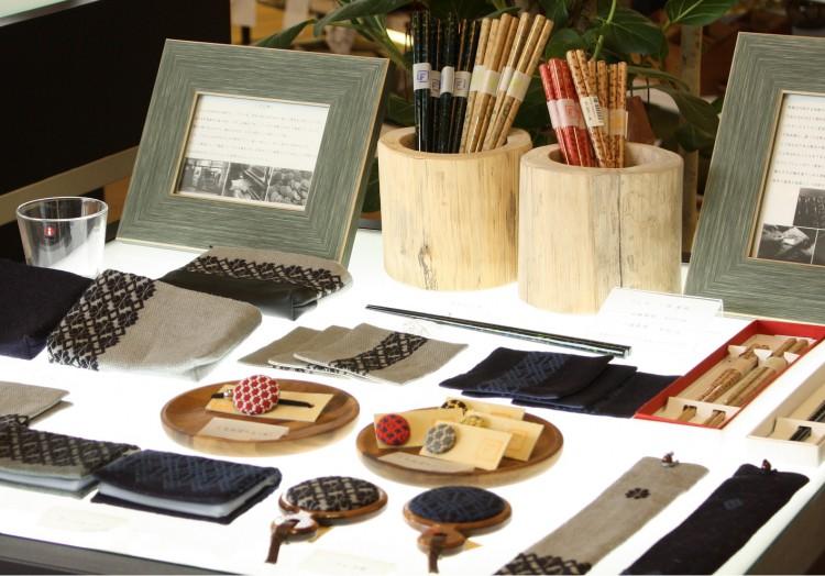津軽の伝統工芸品「こぎん刺し」「津軽塗」とデザインの力