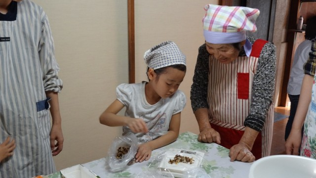 浅虫の古民家でおいしい&楽しい食育体験