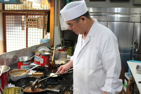 とんかつ「しげ作」の本格麻婆豆腐