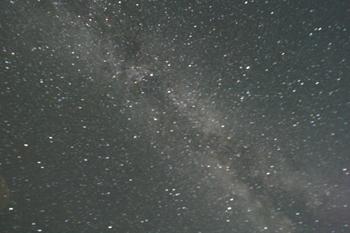 西海岸の満天星と漁り火1