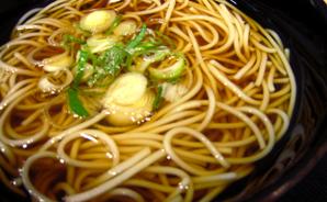 """弘前駅で食べた""""津軽そば"""""""