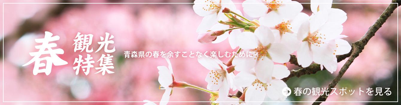 春の観光特集 青森の春を余すことなく楽しむために