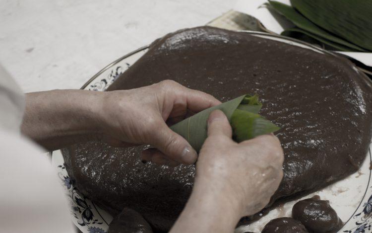 ミサオおばあちゃんの手