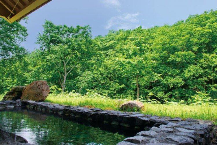 ホテル城ヶ倉露天風呂