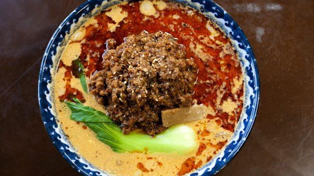 神武食堂の担々麺