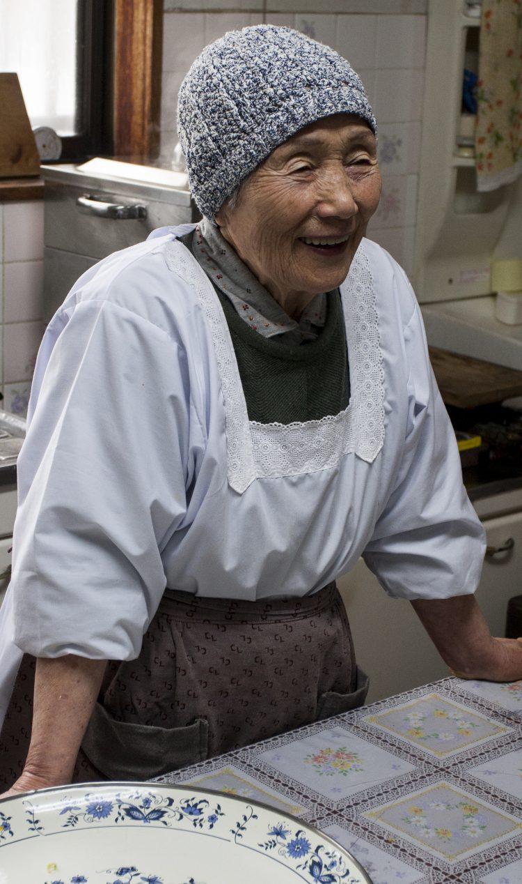の 物語 おばあちゃん 餅