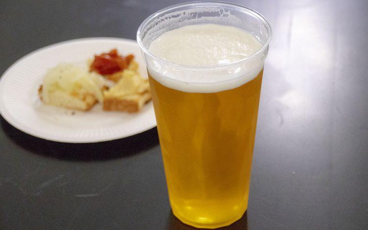 クラフトビールナイト「日本を飲もう」_ギャレス氏のビール