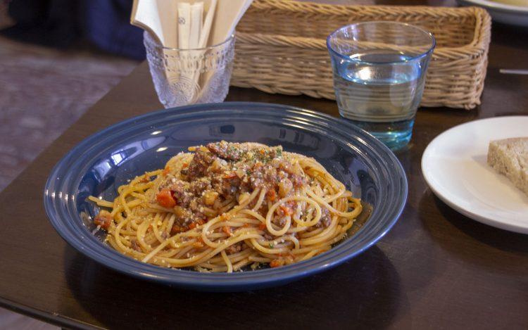 farm cafe orta_ortaランチセット_根菜のボロネーゼソース