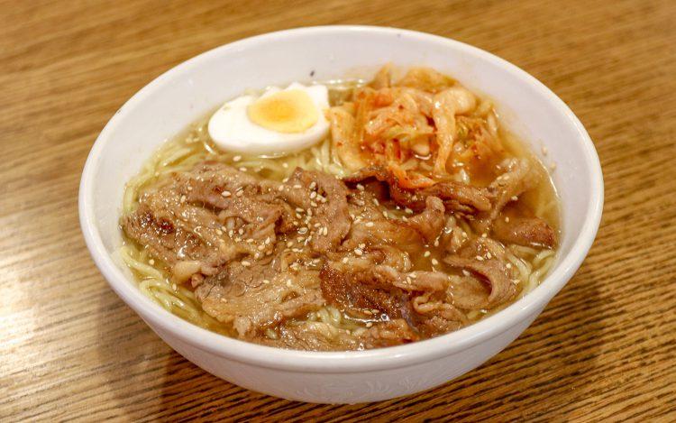 龍松閣_カルビ冷麺