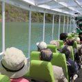 気分爽快!西目屋村の水陸両用バスで「津軽白神湖」を満喫