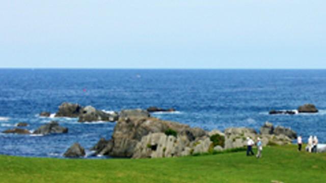 種差海岸で「青い森オフ4(フォー)」1