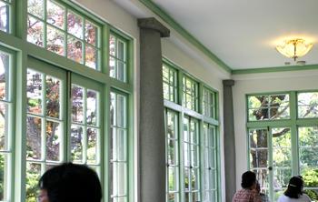 藤田記念庭園 喫茶室
