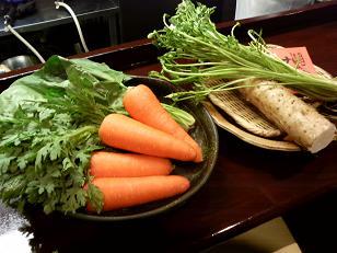 津軽の冬野菜をお店でいただきます♪(その2)