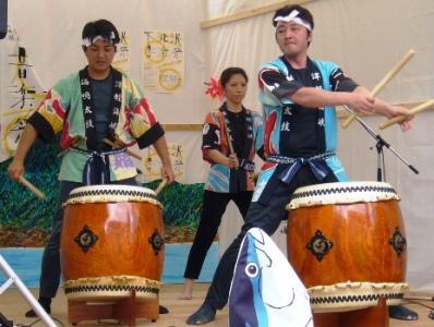 超巨大のぼり登場!?「下北沢音楽祭」へ下北半島から出陣!