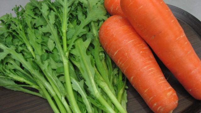 旬です。青森の冬野菜。