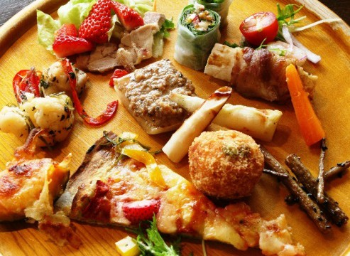 おいらせ町にある農園レストラン「百果良菜」