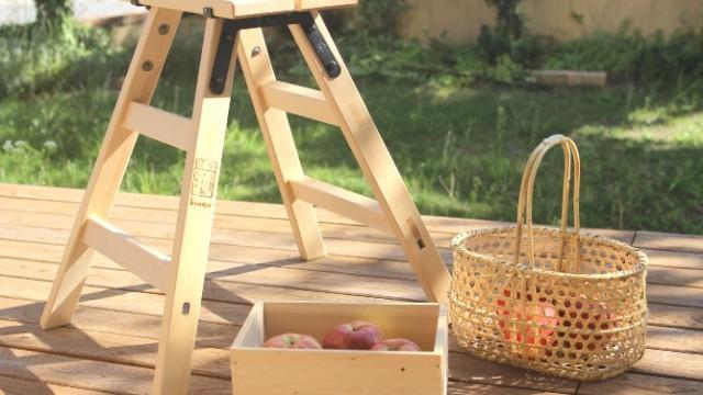 とっても素敵なミニサイズの「りんご」の道具